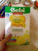Bebi Премиум каша Кукурузная низкоаллергенная с пребиотиками, с 5 месяцев, 200 г #13, Мария К.