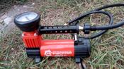 """Компрессор автомобильный """"Агрессор AGR-30L"""" со встроенным фонарем, металлический, производительность 30 л/мин, 12В, 140Вт #2, Виталий"""