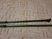 """Палки для скандинавской ходьбы Larsen """"Tracker"""", двухсекционные, цвет: темно-зеленый, черный, длина 90-135 см, 2 шт #9, Оксана П."""