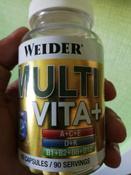 """Витаминно-минеральный комплекс Weider """"Multi Vita+"""", 90 капсул #1, ЮРИЙ"""
