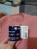 """Пряжа для вязания Астра """"Афродита"""", цвет: розовый (11), 250 м, 100 г, 5 шт #12, Евгения Р."""