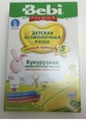 Bebi Премиум каша Кукурузная низкоаллергенная с пребиотиками, с 5 месяцев, 200 г #14, мария
