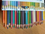 Giotto Набор цветных карандашей Stilnovo 24 цвета #9, Ольга К.