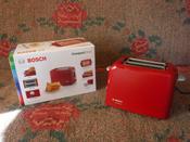 Тостер Bosch TAT3A014, красный #6, Эля