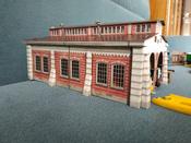 Умная бумага 3D Пазл Паровозное депо #12, Tsybina Elena