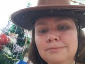"""Маскарадная шляпа """"Ковбой"""", цвет: коричневый. 31335 #5, Инга"""