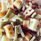 Dalla Costa Алфавит без яиц со шпинатом и томатом, 250 г #2, Трубина Анна Николаевна