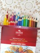 Набор карандашей акварельных MONDELUZ, 36 цв #147, Анастасия Б.