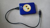 Внешний жесткий диск WD (WDBDDE0010BBL-EEUE), синий #14, Корнеев Денис