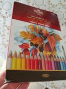 Набор карандашей акварельных MONDELUZ, 36 цв #148, Анастасия Б.