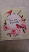 Expert Complete Тетрадь Compliment Vintage 96 листов цвет светло-бежевый розовый формат A5 #1, Мария М.