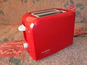 Тостер Bosch TAT3A014, красный #7, Эля