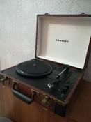 Проигрыватель виниловых дисков Crosley Executive Deluxe, коричневый, белый #12, Юлия Т.