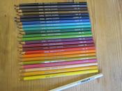 Giotto Набор цветных карандашей Stilnovo 24 цвета #14, Асель
