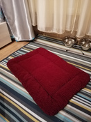 """Матрас для животных """"Зоомарк"""", цвет: бордовый, 38 х 54 см #13, Екатерина С."""