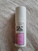 """L'Oreal Paris Красящий спрей для волос """"Colorista Spray"""", оттенок Розовые волосы, 75 мл #11, Ольга С."""