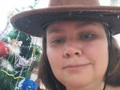 """Маскарадная шляпа """"Ковбой"""", цвет: коричневый. 31335 #7, Инга"""