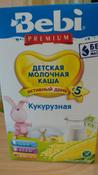 Bebi Премиум каша кукурузная молочная, с 5 месяцев, 200 г #11, Надежда