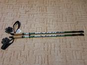 """Палки для скандинавской ходьбы Larsen """"Tracker"""", двухсекционные, цвет: темно-зеленый, черный, длина 90-135 см, 2 шт #6, Оксана П."""