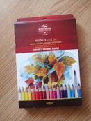 Набор карандашей акварельных MONDELUZ, 36 цв #107, Вика