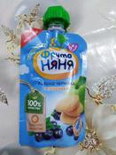 Фрутоняня пюре яблоко, черника печенье с 6 месяцев, 90 г #15, Коровина Елена Владимировна