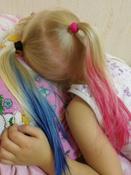 """L'Oreal Paris Красящее желе для волос """"Colorista Hair Make Up"""", оттенок Кобальт Волосы, 30 мл #12, Елена М."""