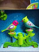 DigiFriends Интерактивная игрушка Птички на дереве цвет бирюзовый салатовый #5, Безкишная Татьяна