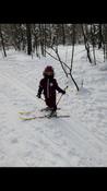 Беговые лыжи Karjala Snowstar 3913 с креплением 75 мм, желтый, рост 110 см #1, Елена
