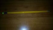 Calligrata Карандаш чернографитный Полоски с ластиком твердость HB цвет корпуса желтый красный 2864370 #4, Елена К.