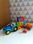 LEGO DUPLO Конструктор Мой первый трактор 10615 #4, Варвара