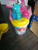 Disney Набор игрушек для песочницы Русалочка №4, 6 предметов, цвет в ассортименте #3, Черникова Наталья
