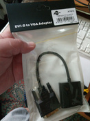 Переходник ATcom 0.1 m  DVI-D dual link (male) - VGA (female)  #17, Бирюков Павел Сергеевич