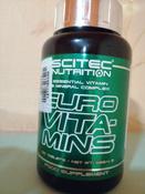 Витаминно-минеральные комплексы Scitec Nutrition Euro Vita-Mins, 120 таблеток #1, Азамат Г.