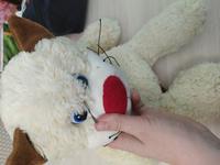 """Мягкая озвученная игрушка """"Кот усатый путешественник"""" #1, Анна"""